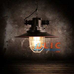 Đèn Trang Trí Phòng Nổ Black PN02 Lic