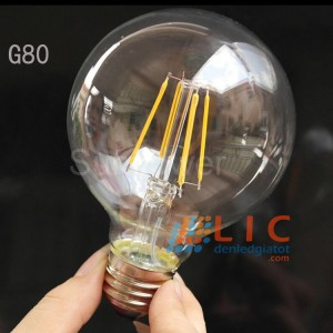 Bóng Edison G80 -4W Sợi Led Lic Lighting