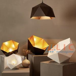 Đèn Trang Trí Lục Giác Lòng Vàng Lic
