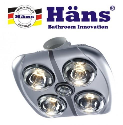 Đèn Sưởi 4 Bóng Hans 550W