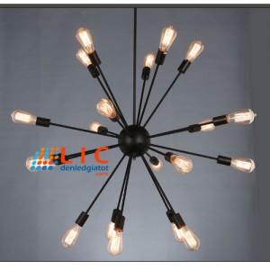 Bộ Thả Đèn Kiểu Vệ Tinh Lic Lighting Edison - Đèn Trang Trí