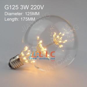 BÓNG LED EDISON G125-  3 TẦNG