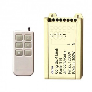 Bộ điều khiển từ xa 4 kênh RF390K4
