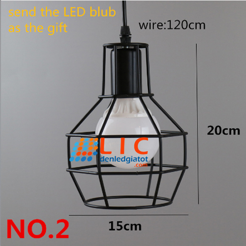 2 chao den tha retro edison sat lic led lighting showroom decor home kitchen