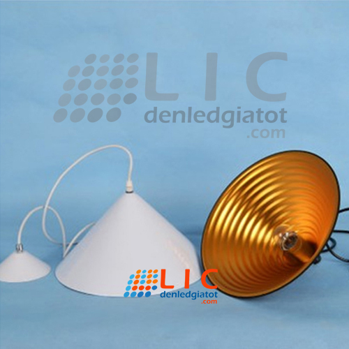 chao den hinh non hinh thap cone lampshade lamps led trang tri decor showroom caffe office restaurants home kitchen ha noi 23