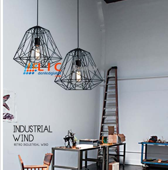 chao den kim cuong sat retro hang dep showroom kitchen bebroom office led trang tri ha noi ho chi minh den tha decor 12