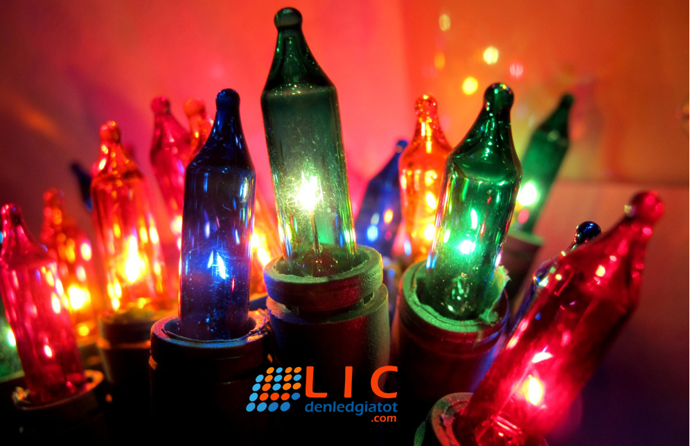 den nhay christmas led lic mau sac trang tri decor