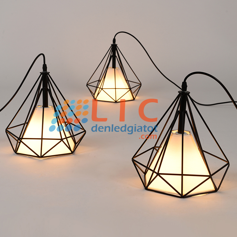 den tha kim cuong cha tha trang tri decor edison showroom thiet ke trang tri khach san biet thu cafe lic led lighting diamond1