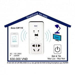 Ổ cắm kết nối wifi CAT110
