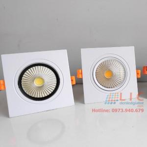 Đèn Âm Trần Vuông Đơn Lic Lighting (7W, 12W)